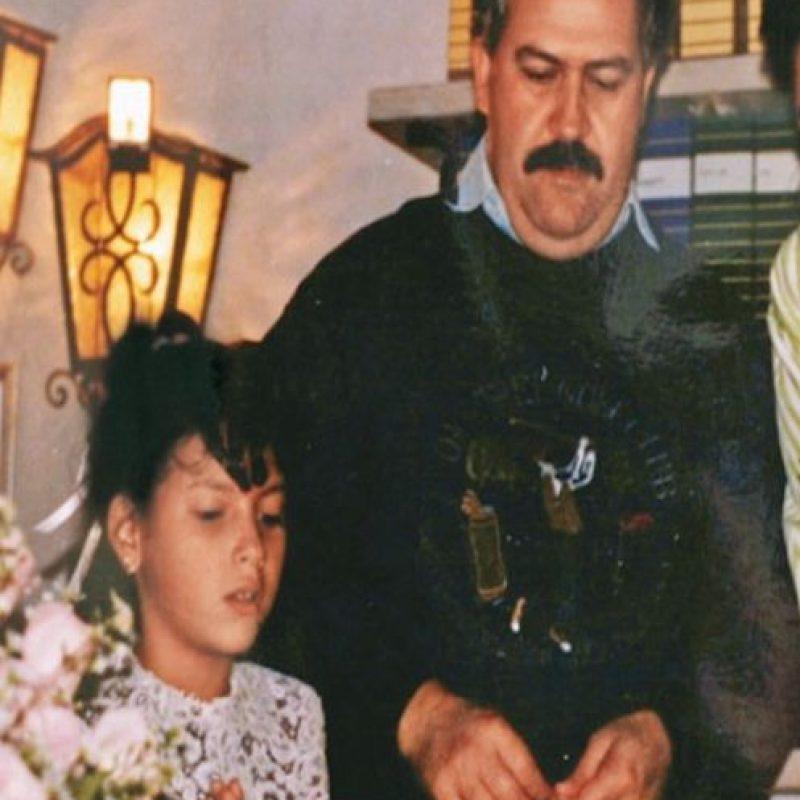 Pablo Escobar y su familia