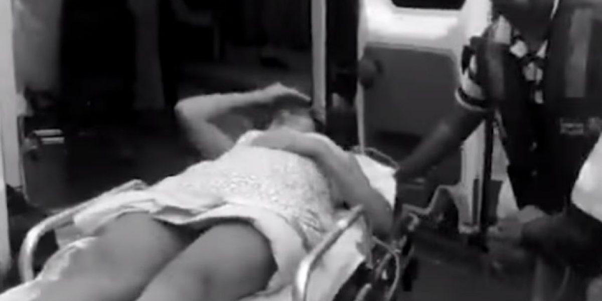 Video: Mujer dio a luz en un taxi y el conductor le cobró $120.000