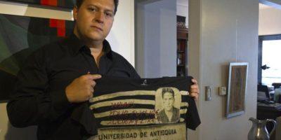 Juan Pablo Escobar, hijo de Pablo Escobar.