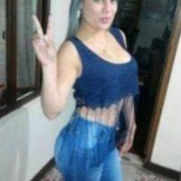 A Andrea Johanna Torres, colombiana de 28 años, la detuvo la Policía por robo y por lo que publicaba en redes sociales. Foto:Twitter