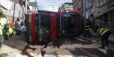 Foto:Cuerpo de Bomberos de Bogotá