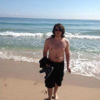 Así se veía Jorge Pino cuando pesaba 80 kilos de grasa Foto:cortesía
