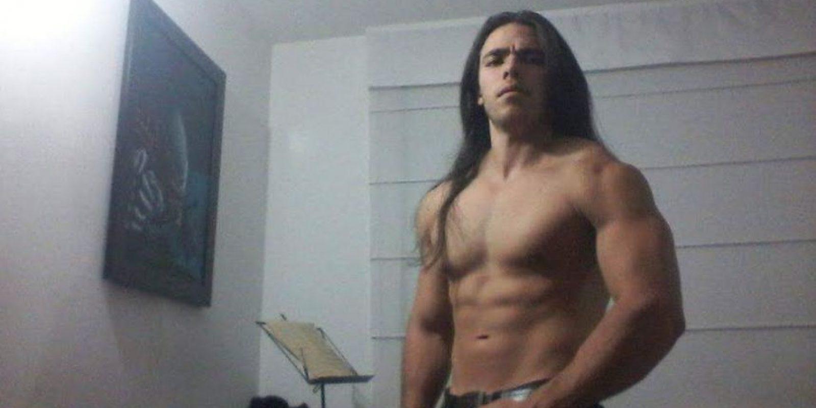 80 kilos de puro músculo basados en ejercicio y buena alimentación. Foto:cortesía