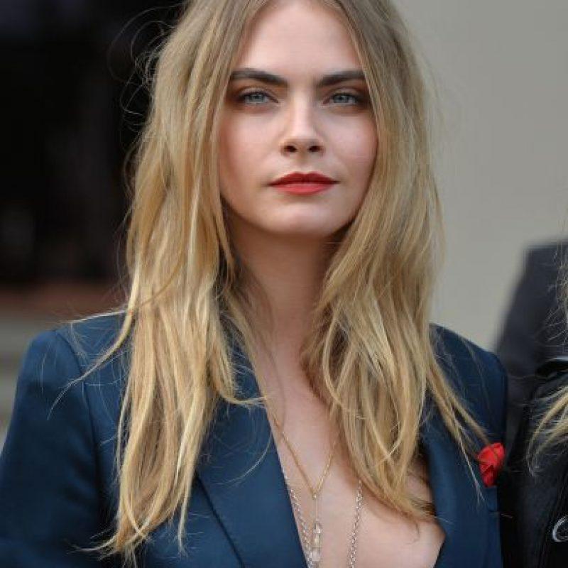 Con tan solo 23 años, Cara Delevinge es una de las modelos más cotizadas. Foto:Getty Images