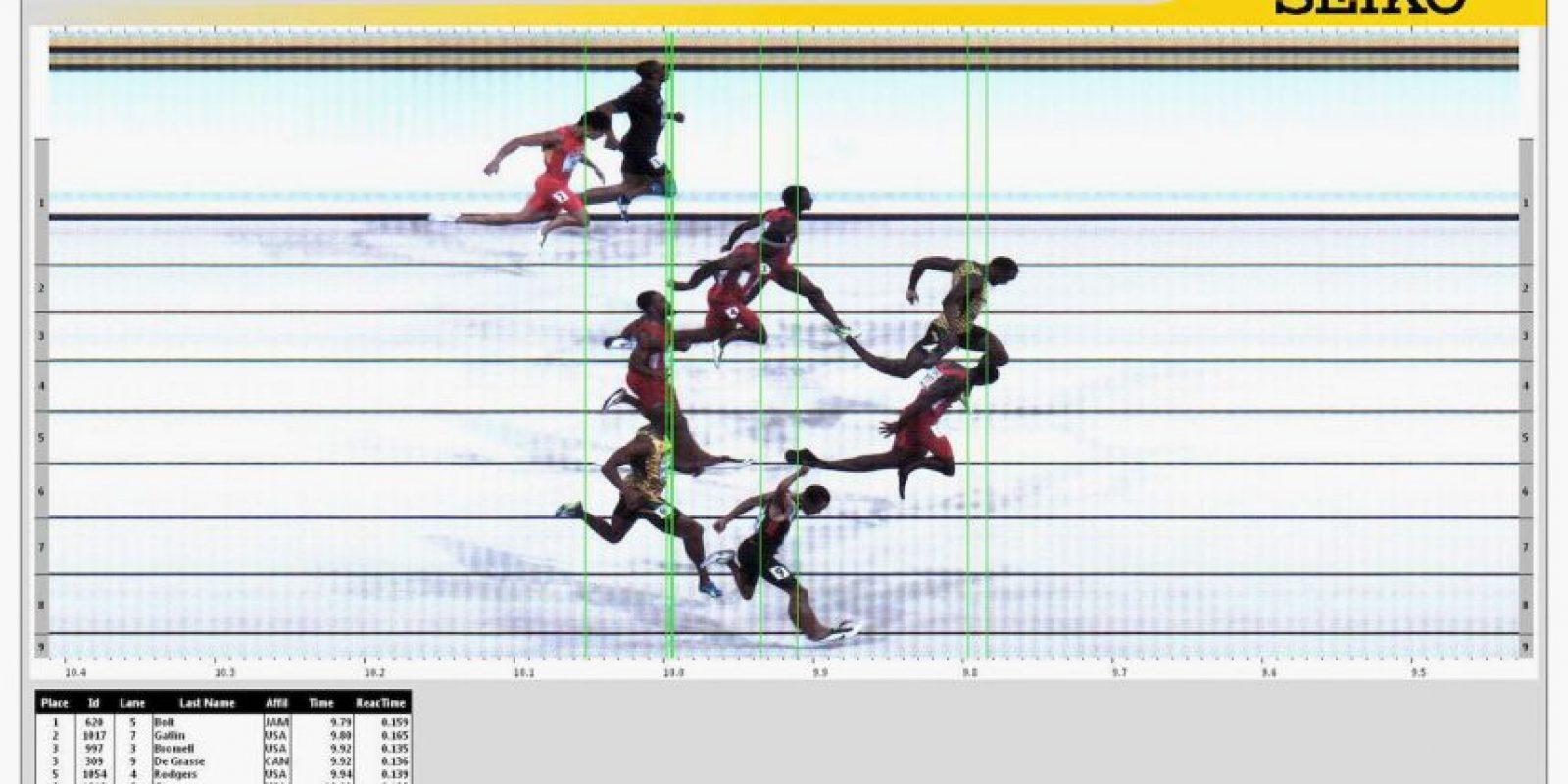 Así fue el duelo de Bolt contra Gatlin Foto:Getty Images