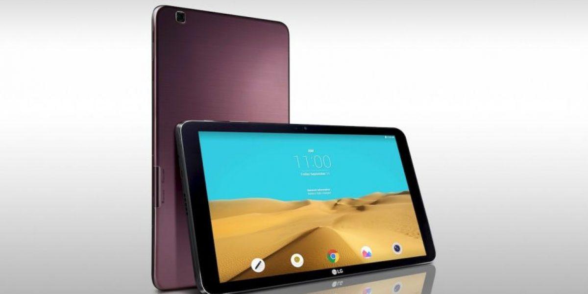 Así es la nueva tableta de LG
