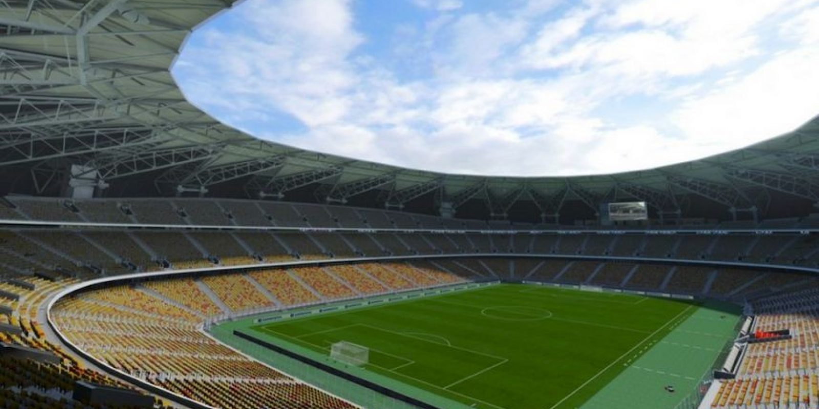 King Abdullah Sports City (Al-Ittihad y Al-Ahli, Abdul Latif Jameel League de Arabia Saudita) Foto: EA Sports