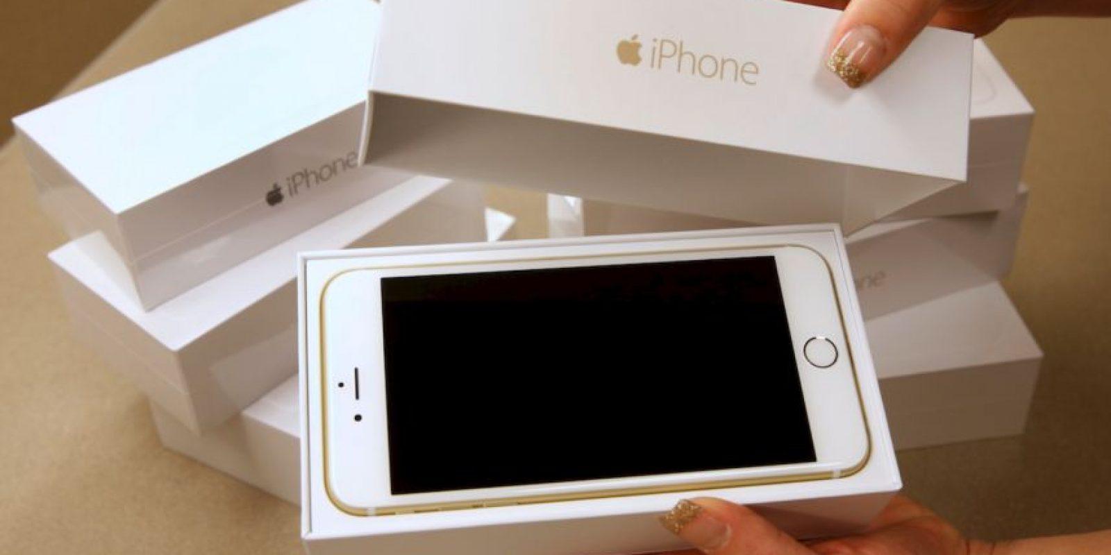 iPhone 6 Plus fue presentado en septiembre de 2014 Foto:Getty Images