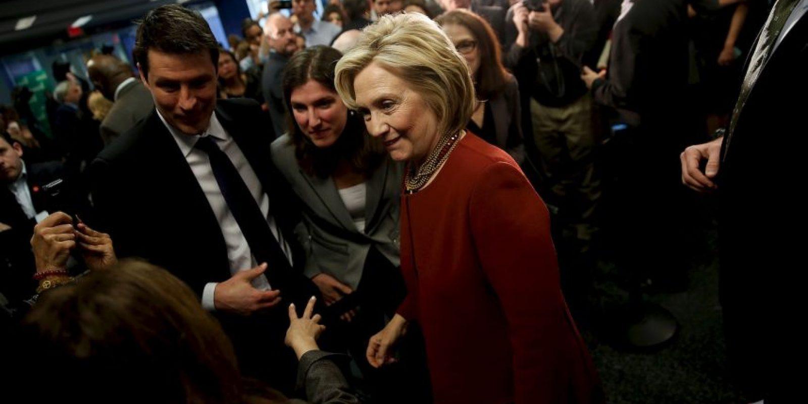 Hillary Clinton, aspirante a la presidencia por el Partido Demócrata Foto:Getty Images