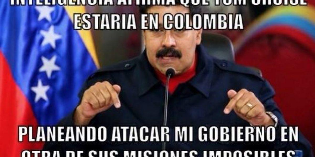 Con memes los colombianos (y venezolanos) critican a Maduro