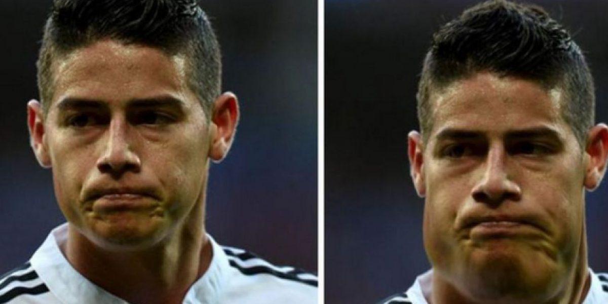 Fotos: ¿Se imagina a James, Messi y Cristiano con unos kilos de más?