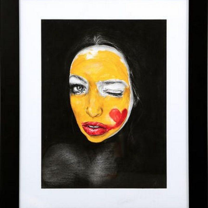 """""""Maybe"""" (2015) de Dessie Jackson. Cuesta 900 dólares. Foto:Arch Enemy Arts"""