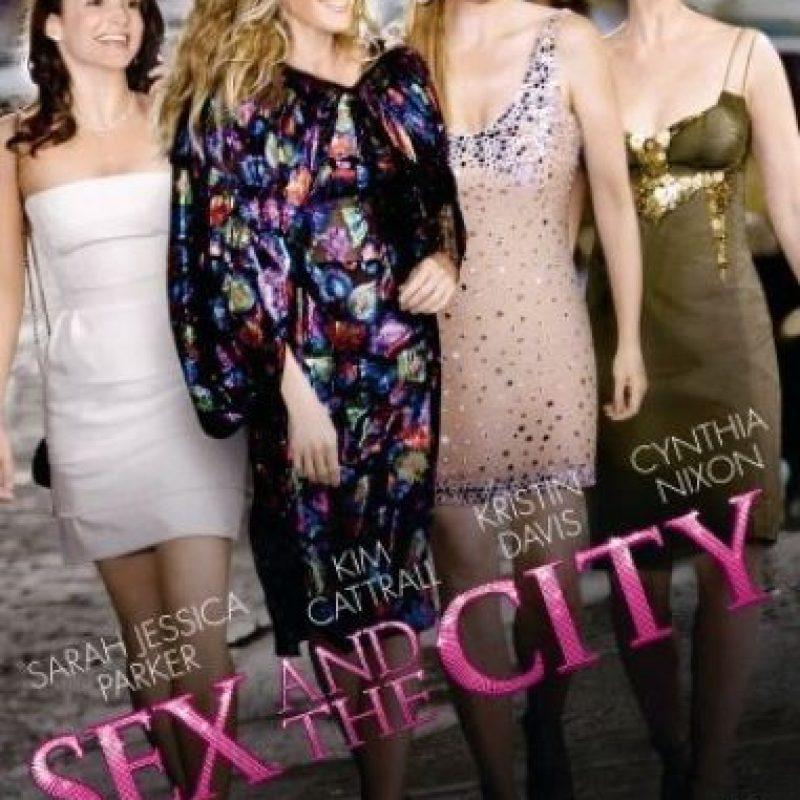 """""""Sex and the city"""" es una serie estadounidense basada en el libro del mismo nombre, escrito por Candace Bushnell. Foto:IMDb"""