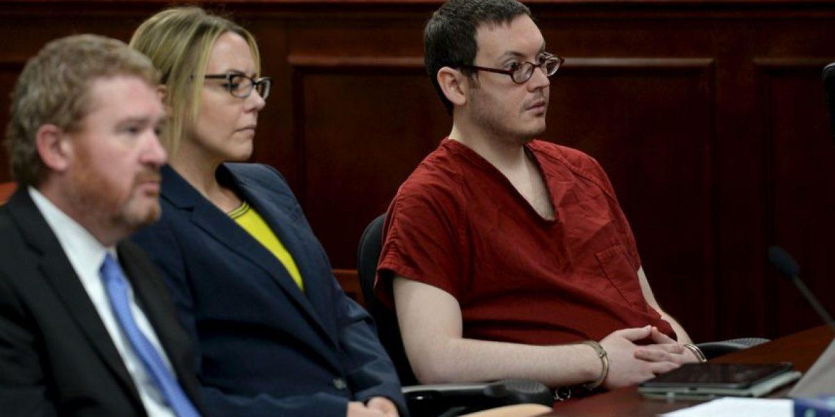 James Holmes condenado a 12 cadenas perpetuas