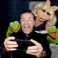 """Ricky Gervais, comediante y creador de la serie """"The Office"""". Foto:Getty Images"""