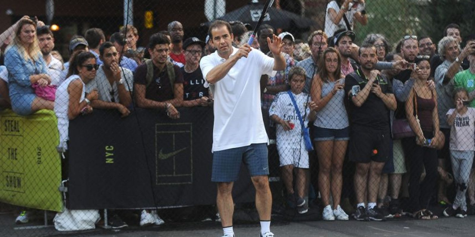 Y claro, los protagonistas del comercial original: Pete Sampras, ganador de 14 Grand Slam. Foto: Getty Images