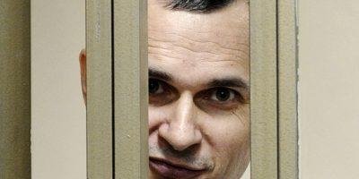 El cineasta ucraniano Oleg Sentsov, tiene 39 años. Foto:AP