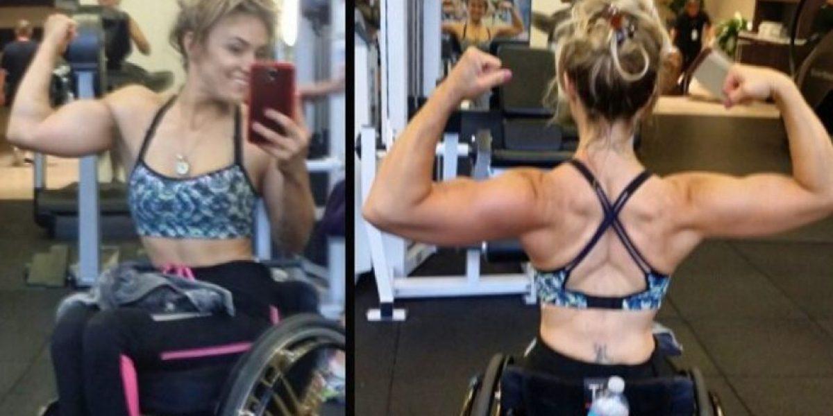 Tiphany Adams, la modelo fitness parapléjica que se convirtió en un ejemplo a seguir