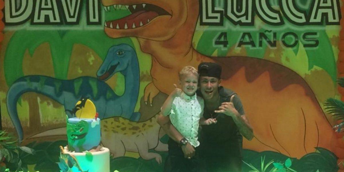"""La """"MSN"""" se reunió en el cumpleaños del hijo de Neymar"""