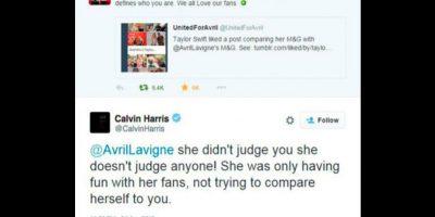 Calvin Harris eliminó su tuit. Foto:Twitter/Calvin Harris
