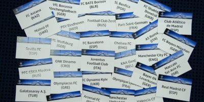 De estos 32 equipos, 22 entraron vía directa (por ser campeones de su Liga, o haberse ganado la clasificación por posición en la tabla), y los 10 restantes lo hicieron a través de los playoffs. Foto:Vía facebook.com/uefachampionsleague