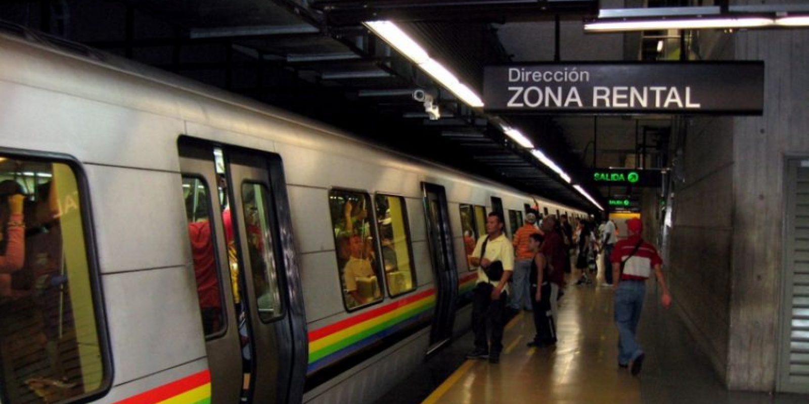 Metro en la capital