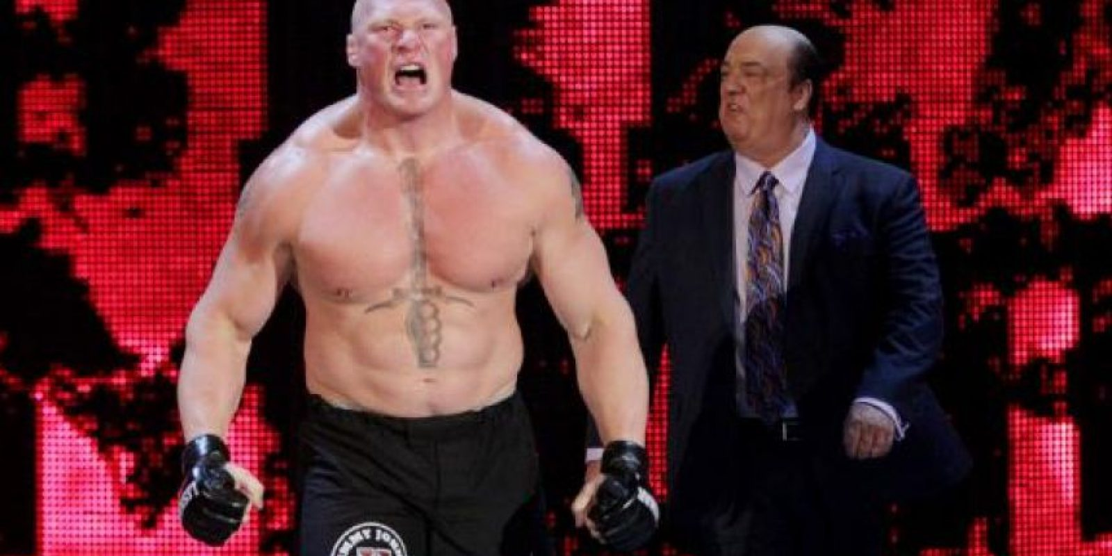 """Después de vencer a """"Taker"""" en Wrestlemania 30, podría haberse retirado pero ha continuado engrandeciendo su nombre en el entretenimiento deportivo Foto:WWE"""