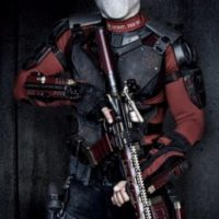 "Por otra parte, Will Smith, que interpreta a ""Deadshot"", recibió una caja de balas. Foto: The Grosby Group"