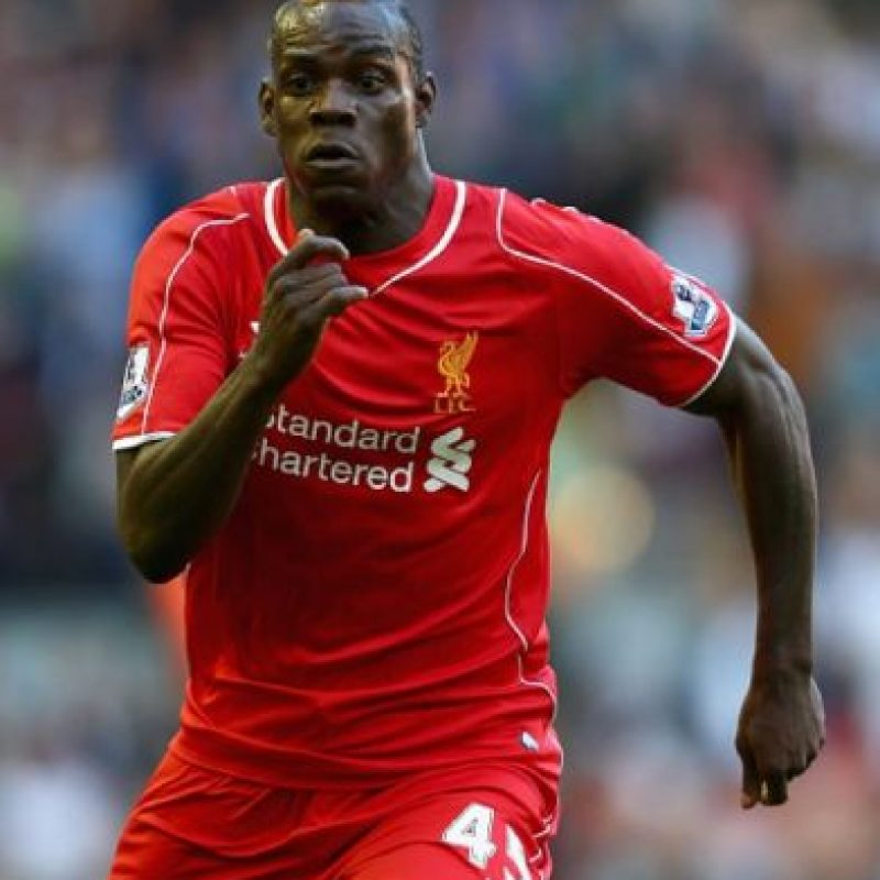 Mario Balotelli llegó al Liverpool inglés en 2014. Foto: Getty Images
