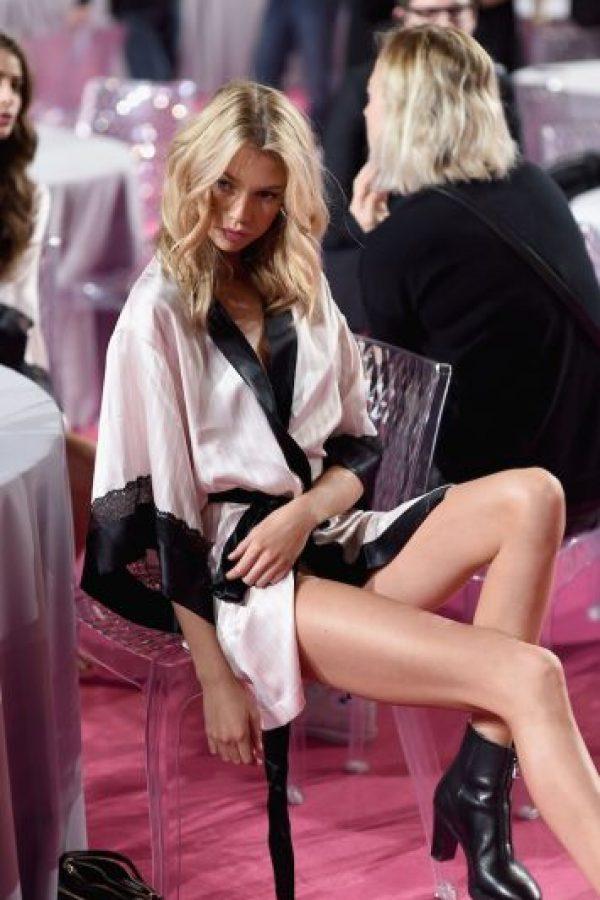 """Es uno de los codiciados ángeles de la firma de ropa interior """"Victoria's Secret"""". Foto:Getty Images"""
