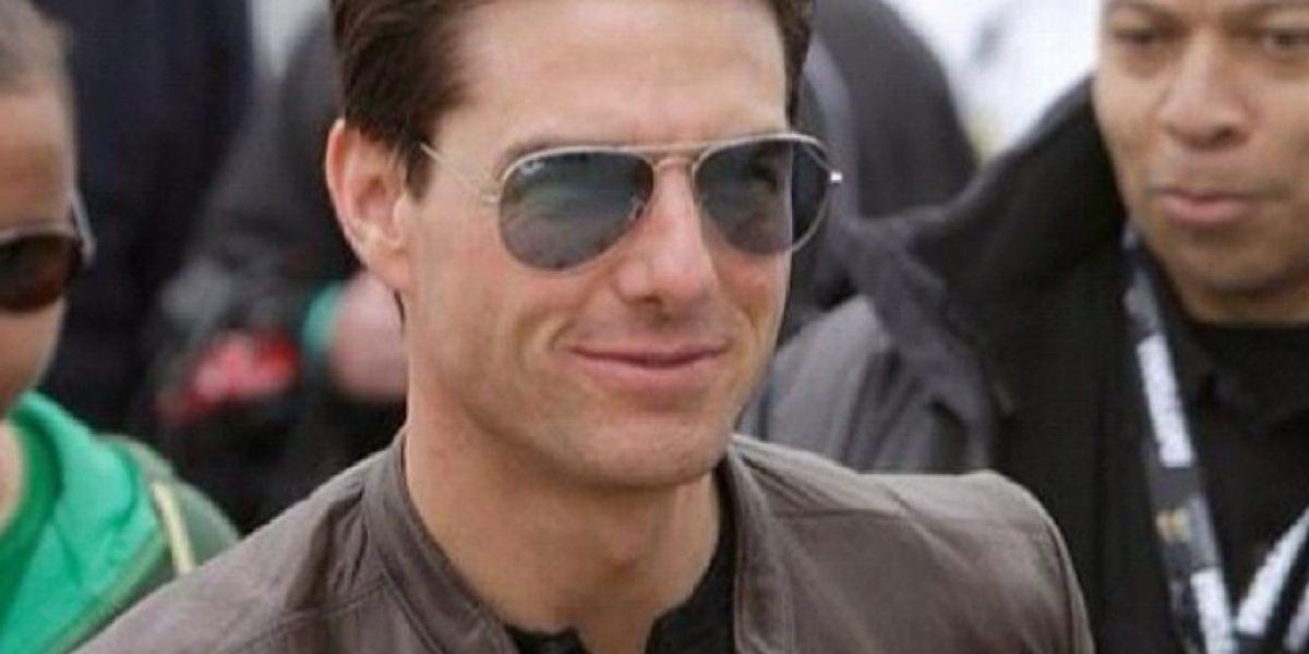 Tom Cruise fue pillado de turismo por Bogotá