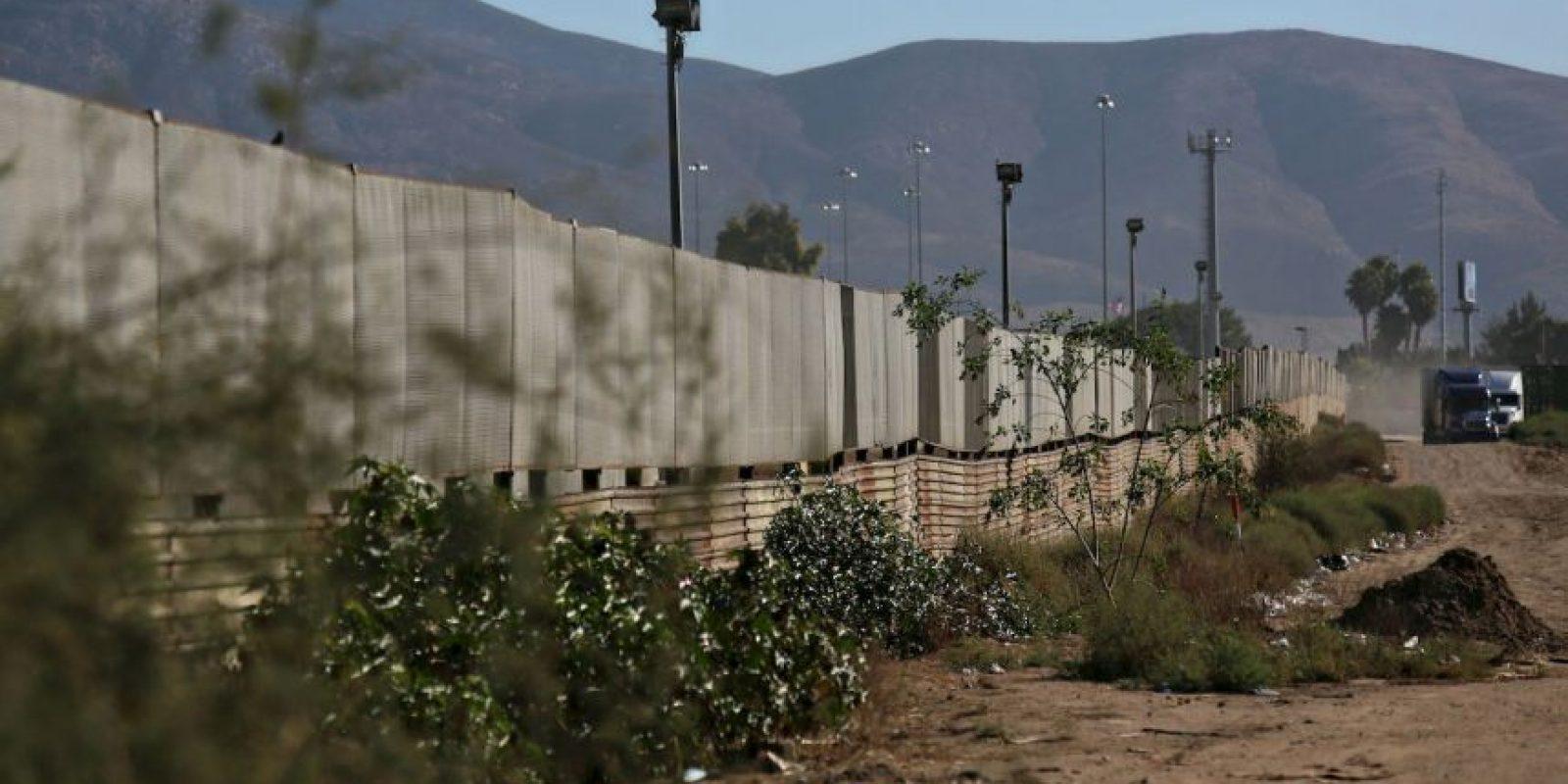 Frontera de Estados Unidos con Tijuana, México Foto:Getty Images