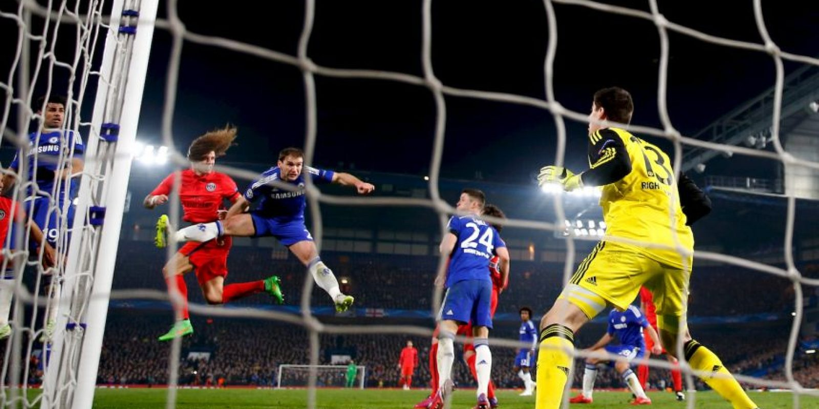 4. Thibaut Courtois (Chelsea) ante PSG. Foto: Getty Images