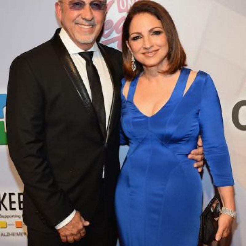 Emilio y Gloria Estefan Foto:Getty Images