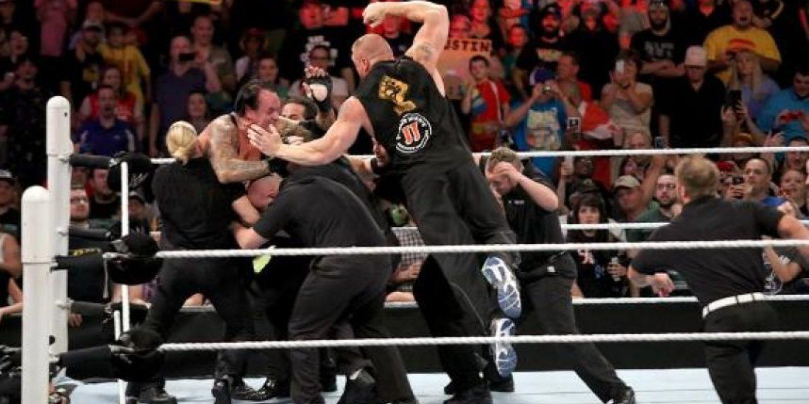 3. Nunca es suficiente. Foto:WWE