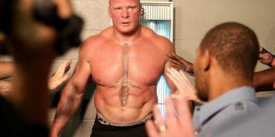 Lesnar derrotó a Undertaker en Wrestlemania, algo que no pudieron hacer estrellas como Randy Orton, Triple H, Shawn Michaels y Cm Punk, entre otras Foto:WWE