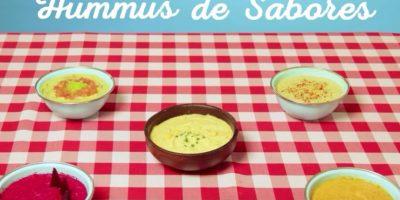Humus de sabores Foto:Vía Youtube