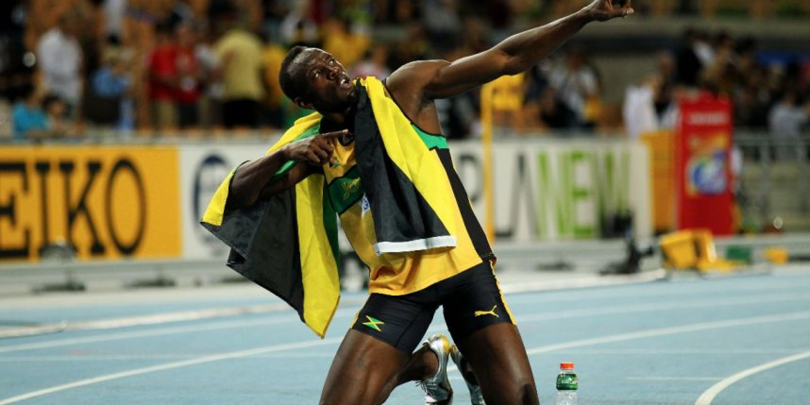 Medalla de Oro en el Mundial de Atletismo 2011 en 200 metros planos. Foto:Getty Images