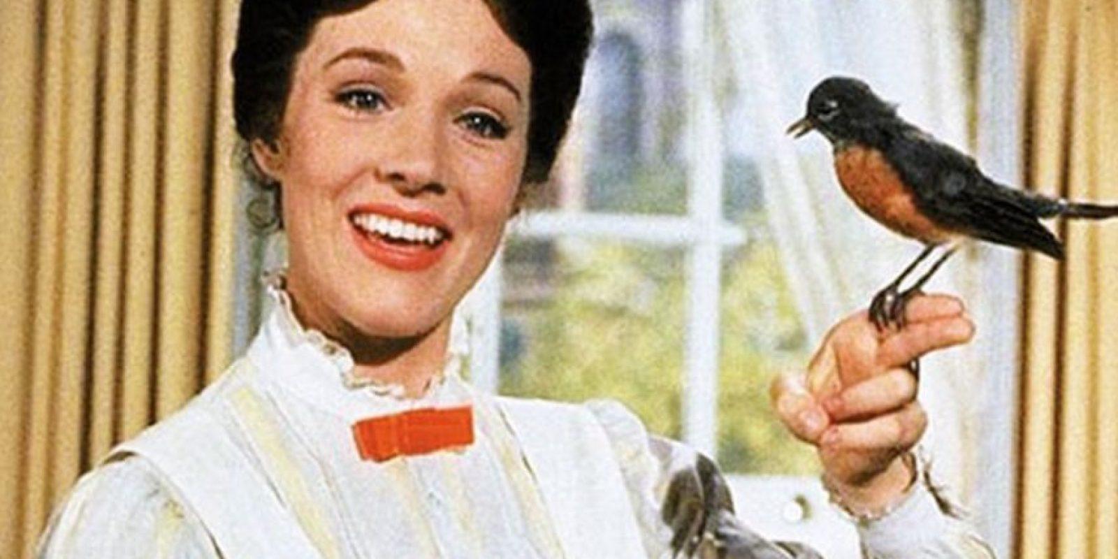 """Julie Andrews fue """"Mary Poppins"""" Foto:Vía imdb.com"""