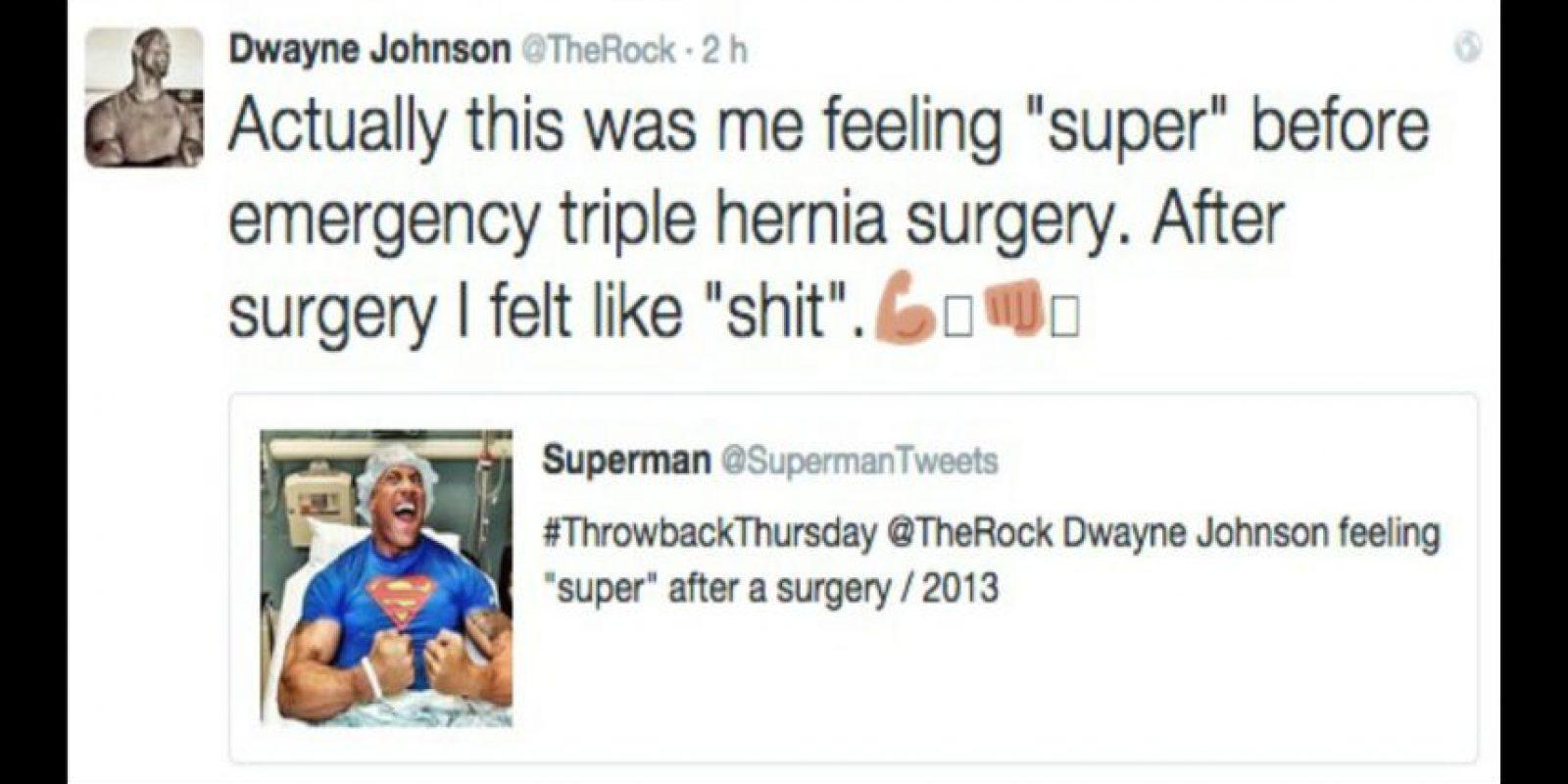 Dwayne Johnson Foto:Twitter/TheRock