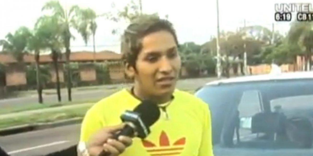 Taxista detuvo a quien lo robó y lo llevó en el maletero del auto a la TV