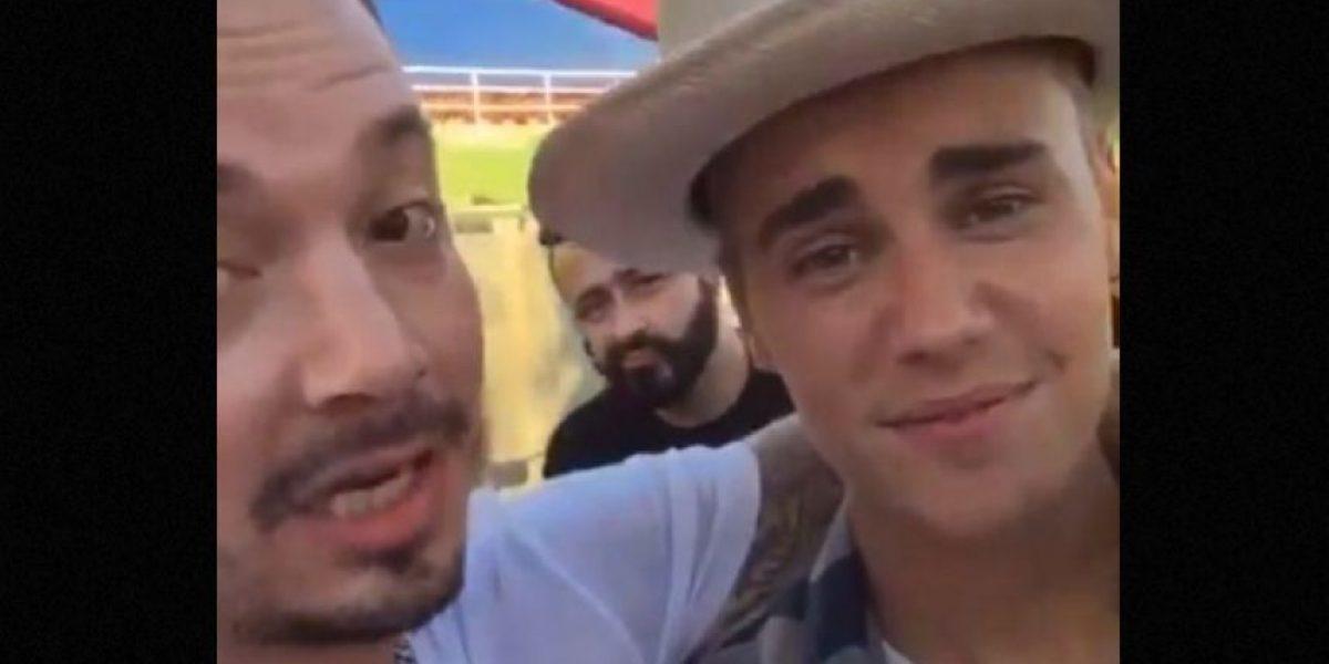 J Balvin haría una canción a dúo con Justin Bieber