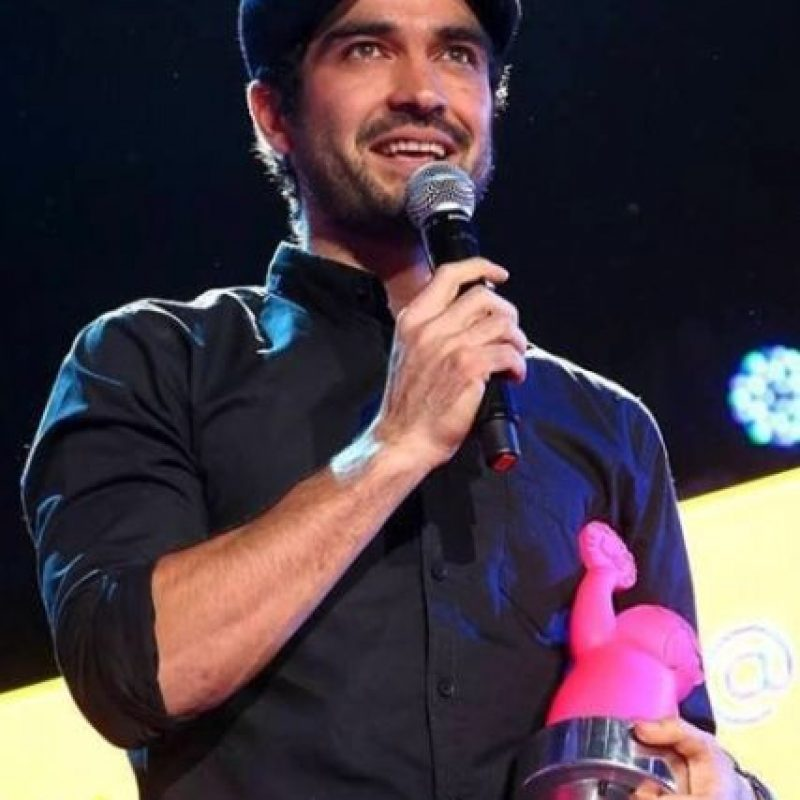 """En 2014 recibió el premio de """"Agente de Cambio"""" en los MTV MIllennial Awards Foto: vía instagram.com/ponchohd"""