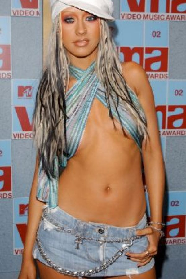 2002. Christina Aguilera Foto: Getty Images
