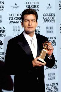 """""""Desde mi gran y hermoso cerebro, bienvenidos a """"Sheen's Korner""""… O estás en mi rincón o estás con los trolls"""", señaló al presentar su programa por Internet. Foto:Getty Images"""