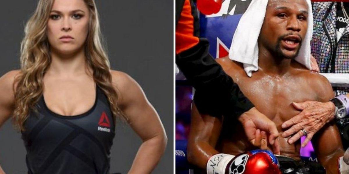 Ronda Rousey manda letal mensaje a Floyd Mayweather