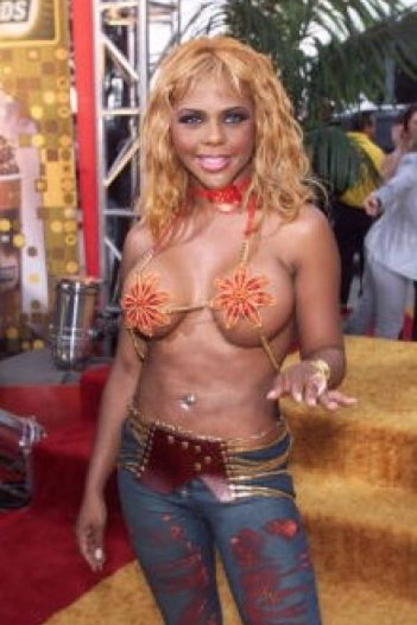 2001. Lil Kim Foto: Getty Images