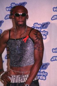 1995. Dennis Rodman Foto: v Getty Images