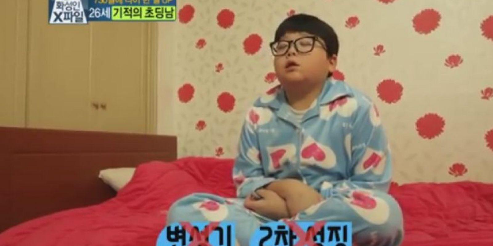 Pero si físico es de un niño de aproximadamente 10 años. Foto:Vía Youtube TVN e-News
