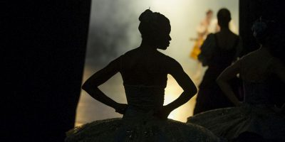 Bailarina en Sudáfrica. Foto:AFP